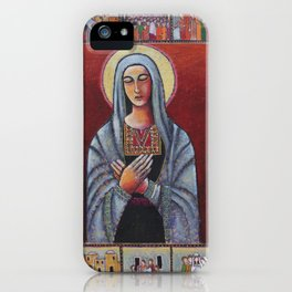 Holy Family #1 By Nabil Anani iPhone Case