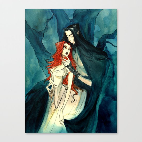 Hades and Persephone II Canvas Print