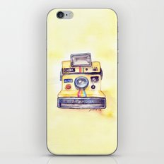 Vintage gadget series: Polaroid OneStep camera iPhone & iPod Skin