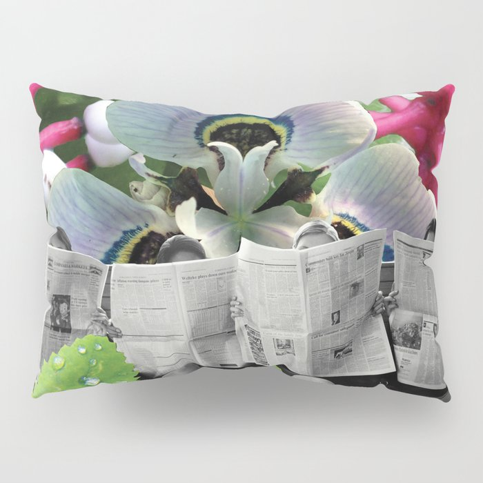 I Wonder What the Headline is Today? Pillow Sham