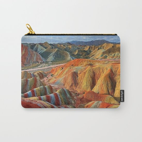 colours mountains Carry-All Pouch