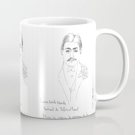 Marcel Proust portrait Coffee Mug