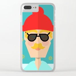 The Whimsy Sailor Clear iPhone Case