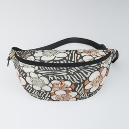 12,000pixel-500dpi - Watanabe Seitei - Plum Blossom - Japanese traditional pattern design Fanny Pack