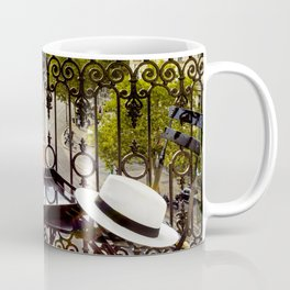 Eiffel Tower Paris Balcony View Coffee Mug