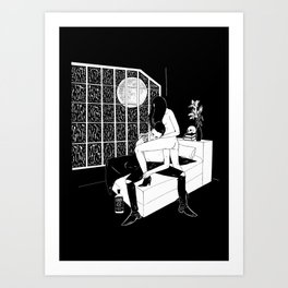 In a Lonely Place Art Print