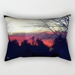 Paint Me A Sunset Rectangular Pillow