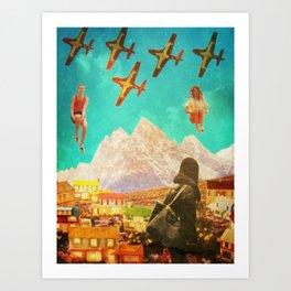 Free Fall Art Print