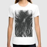 """cthulu T-shirts featuring Cthulu """"He is Risen"""" H.P. Lovecraft by judgehydrogen"""