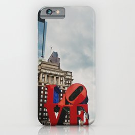 Philadelphia the city of brotherly love  iPhone Case