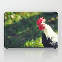 rooster iPad Cases featuring Rooster by KimberosePhotography
