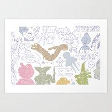Y 2 K Art Print