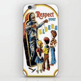 Respect Your Elders iPhone Skin