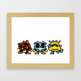 Dr. Mario Viruses Framed Art Print