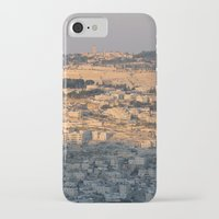 israel iPhone & iPod Cases featuring Jerusalem Living in Israel by Rachel J