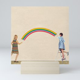 Coat of Many Colors Mini Art Print