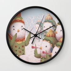 Trumpet Bird Orchestra Wall Clock