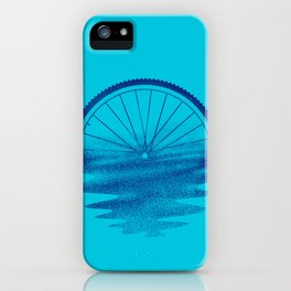 Blue Sunset Mystery iPhone Case