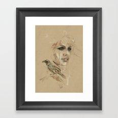 [Crow] Framed Art Print