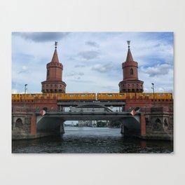 The Oberbaum Bridge, BERLIN Canvas Print