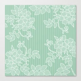 SPRING IN GREEN Canvas Print