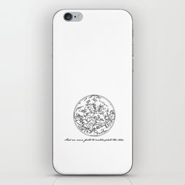 Dante's Inferno - Contemplate the Stars - Dante Alighieri iPhone Skin