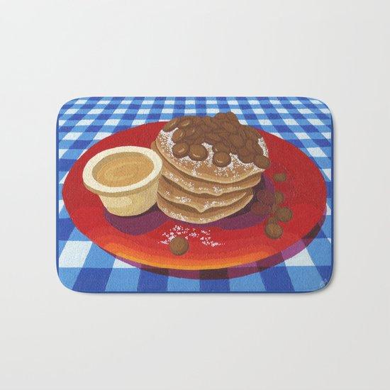 Pancakes Week 4 Bath Mat