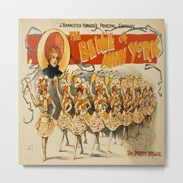 Vintage poster - The Belle of New York Metal Print