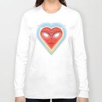 mirror Long Sleeve T-shirts featuring MIRROR by Waldek Borowski