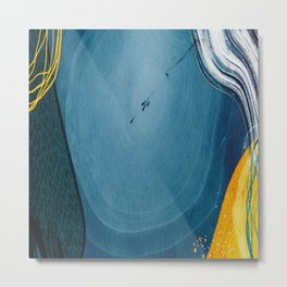 Fine abstract art for home decoration Metal Print