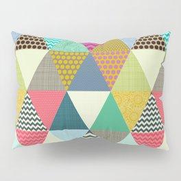 New York Beauty triangles Pillow Sham