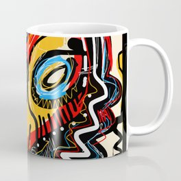 Art as a will to live Graffiti Street Art Coffee Mug