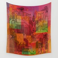 hiphop Wall Tapestries featuring Squad Goals by Work the Angle
