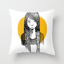 Introverted Throw Pillow