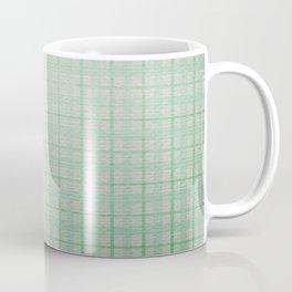 Pale Sea Plaid Coffee Mug