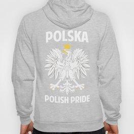Poland Polska Polish Pride Proud Eagle Gift Idea Hoody