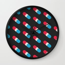 Pills, Pills, Pills Wall Clock
