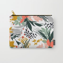 Botanical brush strokes I Carry-All Pouch