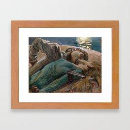 THE LOVERS - ASKELLI GALLEN  Framed Art Print