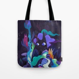 dark-side cats Tote Bag