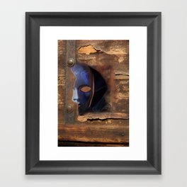 the mask /   Framed Art Print