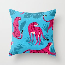 Leo the Leopard #3 Throw Pillow