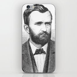 Ulysses S. Grant Illustrative Portrait iPhone Skin
