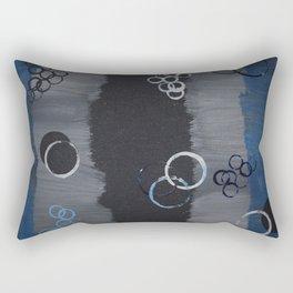 Supersonic Circle Rectangular Pillow