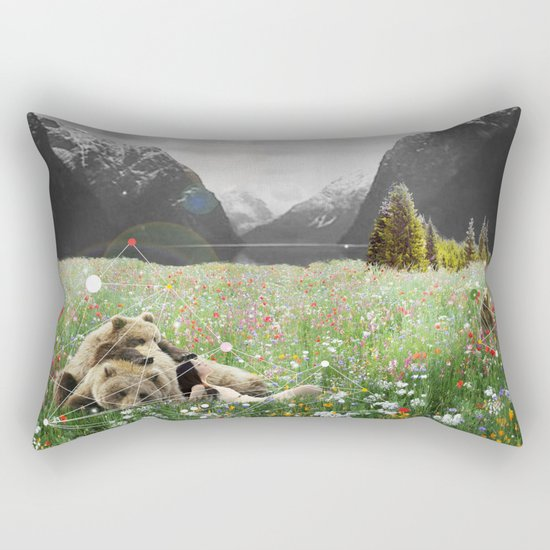 BREAK OF BEAR Rectangular Pillow