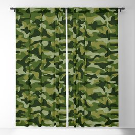 Forest Camouflage Blackout Curtain