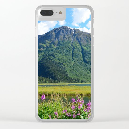 July at Tern Lake Clear iPhone Case