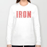 ironman Long Sleeve T-shirts featuring IRONman  by Rachcox