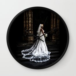Dead Bride Wall Clock