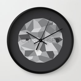 Crystalised Wall Clock